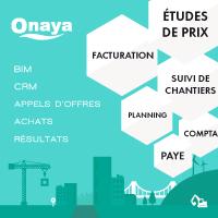 ONAYA : une solution métier pour gérer efficacement votre entreprise de BTP