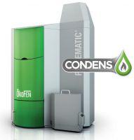 Chaudière à granulés à condensation pour le collectif/tertiaire