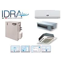 IDRA, Comfort et Luxe invisible: Système de climatisation avec unité de condensation à l'eau.