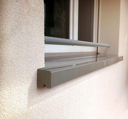 Protègenet Tradition Un Appui De Fenêtre En Aluminium