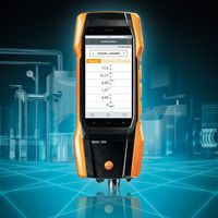 Testo 300 - 'i-analyseurs de combustion réellement intelligent !