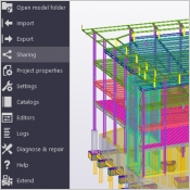 Tekla Model Sharing (outil collaboratif bim)
