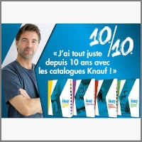 KNAUF CATALOGUES 10 ANS