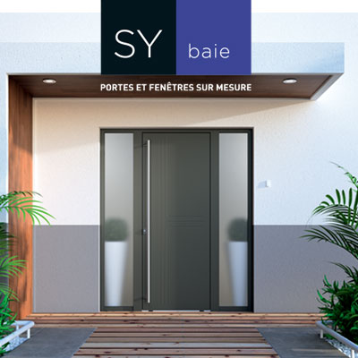 Les portes aluminium et mixte, des portes d'entrée sur l'avenir