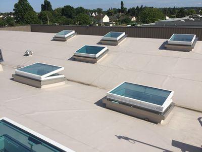 Ecolux Premium Alu, la fenêtre plane pour l'éclairement et l'aération naturels