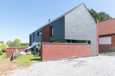 Habitat durable : construction d'une maison contemporaine à Ham-sur-Heure