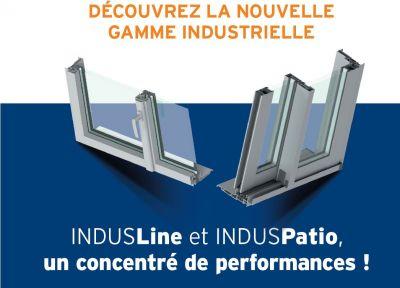 IndusLine et IndusPatio : nouvelle génération de menuiseries spéciale fabrication industrielle