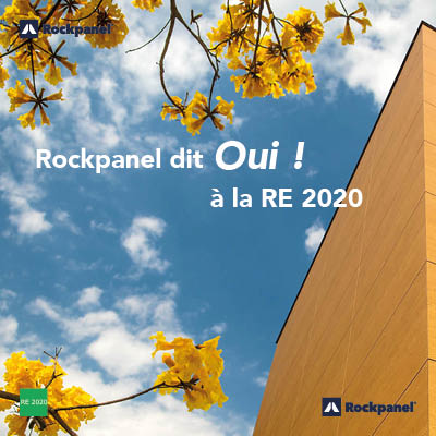 Rockpanel dit oui à la RE 2020
