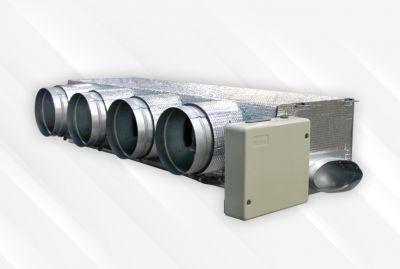 Solution de régulation pour le contrôle de la qualité de l'air intérieur