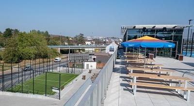 DreenCeramica pour la toiture du complexe Decathlon de Charleroi