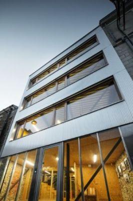 La subtile esthétique de l'aluminium pour des bureaux d'architectes à Nantes