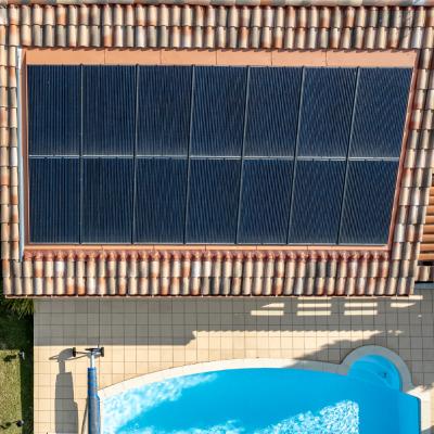 TERREAL systèmes solaires répondent aux besoins énergétiques des maisons individuelles.