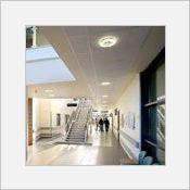 Rockfon MediCare Plus - Plafond acoustique en laine de roche