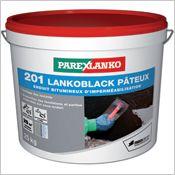 201 Lankoblack pateux - Enduit bitumeux d'imperméabilisation