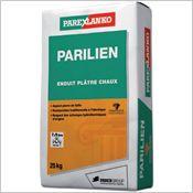 Parilien - Enduits plâtre chaux grain moyen