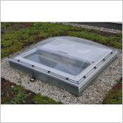 Fenêtre-coupole VELUX pour toit plat  - Fenêtre coupole
