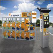 Le Distributeur automatique de bouteille de gaz FINAGAZ