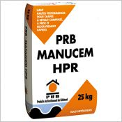 PRB Manucem HPR - Liant hautes performances pour chapes