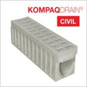 Caniveau compact KOMPAQDRAIN ® CIVIL