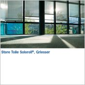 SOLOROLL® II - Store toile interieur