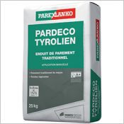PARDECO TYROLIEN - Enduit de finition traditionnel