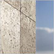Parement de façade COQUILLÉ (inspiration minérale) - Bardage avec ou sans ossature