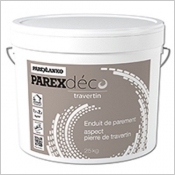 PAREX DÉCO TRAVERTIN, l'enduit de parement aspect pierre de travertin