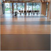 Revêtement de sol coulé sans joint, autolissant - Sol coulé décoratif - confort de marche