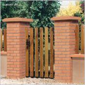 Piliers aspect brique Weser - Pilier / poteau de clôture