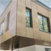 Nouveaux coloris bois PREFA - Revêtement de façade