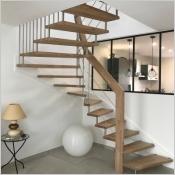 Après le confinement repenser son intérieur avec un escalier design pour plus d'harmonie