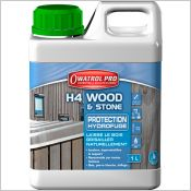 H4 wood and stone - Protection hydrofuge incolore