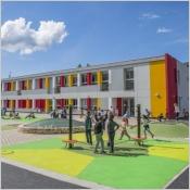 Construire des écoles durables avec TRESPA®