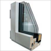 Fenêtre et porte fenêtre passive LUMIA