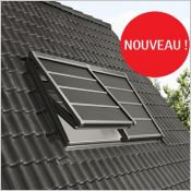 Volet roulant souple VELUX - La solution