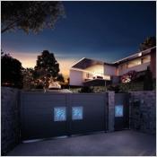 Portails avec système éclairage led collection Night & Day,