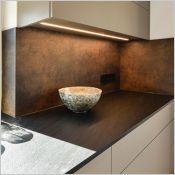 Panneau décoratif  anti trace de doigt pour plans de travail de cuisine | APTICO