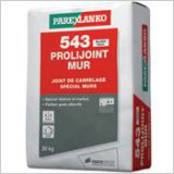 543 Prolijoint Mur - Joint de carrelage
