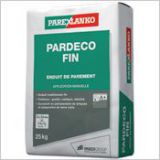 Pardeco fin - Enduit de finition traditionnel