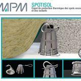 capot de protection thermique pour spot encastr cloche. Black Bedroom Furniture Sets. Home Design Ideas
