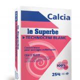 Le Superbe TECHNOCEM BLANC 32,5 R (CEM II) - Ciment blanc