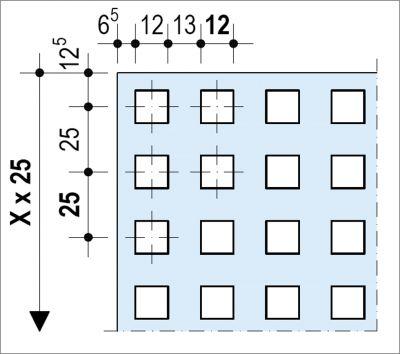 Knauf Delta Linear - Décor Quadril - Plafond acoustique non démontable