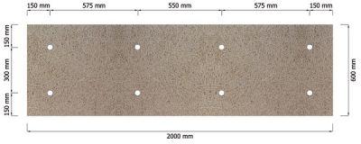 Panneau isolant en sous face de dalle - Fibrastyroc ULTRA Phonik Clarté - Panneaux en laine de bois isolants