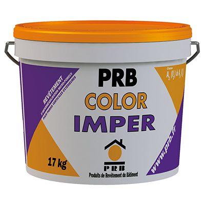 PRB Color Imper et Imper Mat - Revêtement d'imperméabilisation façade