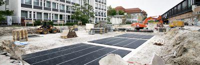 Isolation antivibratoire des bâtiments - Stabilité élastique des bâtiments