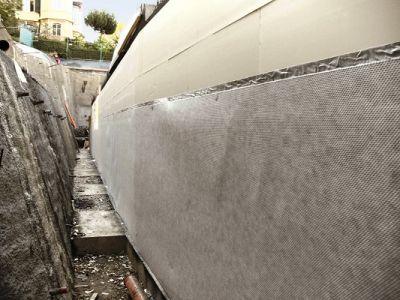 Delta-MS-Drain - Nappe de drainage vertical