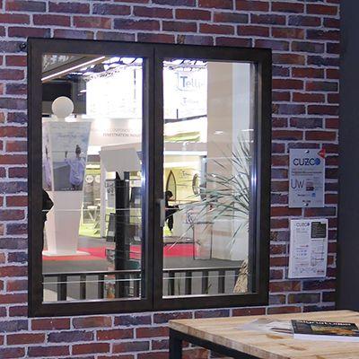 Fenêtre alu CUZCO® Ouvrant Minimaliste - Fenêtre alu 70mm à ouvrant minimaliste