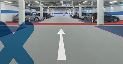 Triflex DeckFloor - Système d'étanchéité pour parkings