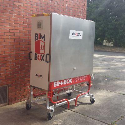BIM BOX - Cabine mobile de chantier - Le bim au coeur du chantier