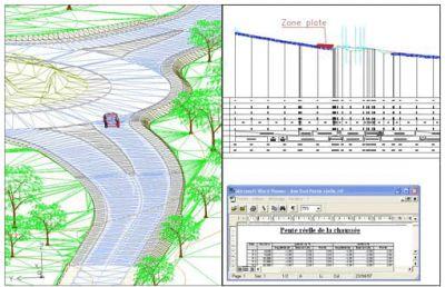 AUTOPISTE - Logiciel de conception routière
